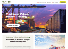 mentorfreight.co.za