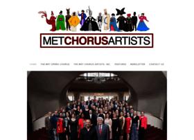metchorusartists.com