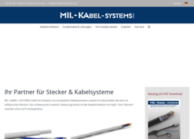 mil-kabel-systems.com