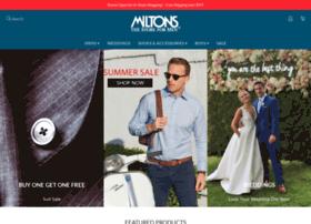 miltons.com