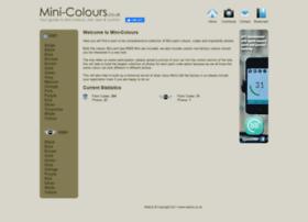 mini-colours.co.uk