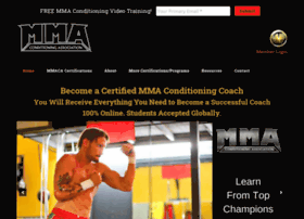 mixedmartialartsconditioningassociation.com
