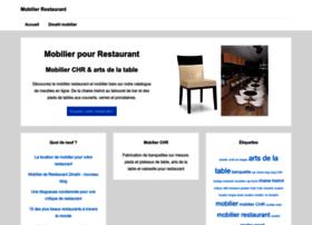 mobilier-restaurant.fr