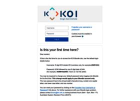 moodle.koi.edu.au