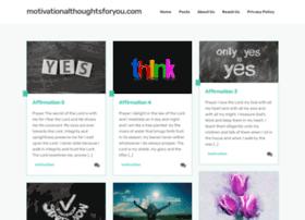 motivationalthoughtsforyou.com