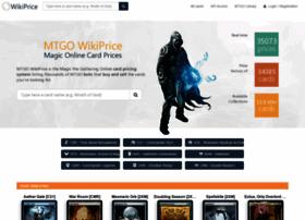 mtgowikiprice.com