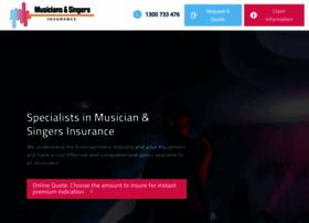 musiciansinsurance.com.au