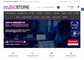 musicstoreitalia.com