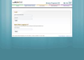 my.ali-cle.org