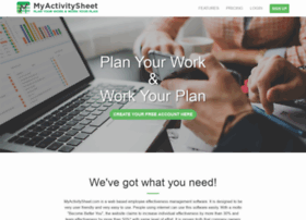 myactivitysheet.com