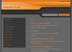 myjquery.co.uk