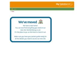 mysainsburys.co.uk