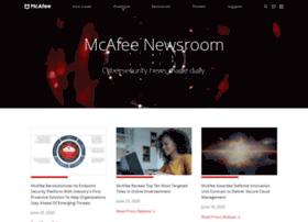 newsroom.mcafee.com