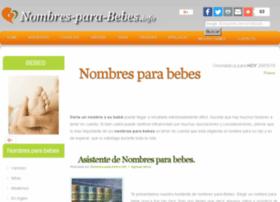 nombres-para-bebes.info
