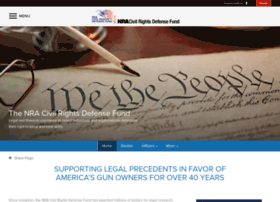 nra civil rights defense fund The nra civil defense fund is a charity the nra board of directors established the nra civil rights defense fund in 1978 to.