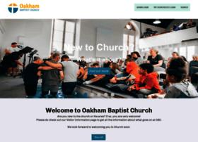 oakhambaptist.org.uk