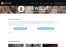 oakwoodcommunity.church