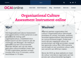 organizational culture assessment instrument pdf
