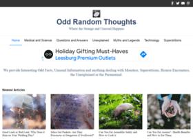 oddrandomthoughts.com
