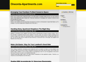oneonta-apartments.com