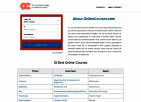 onlinecollegecourses.com