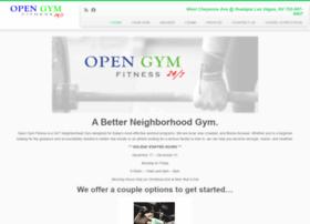 opengymfitness.com
