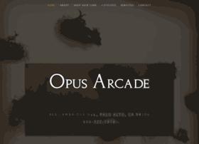 opusarcade.com