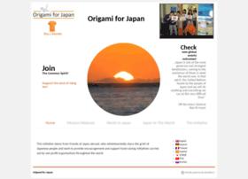 origamiforjapan.org