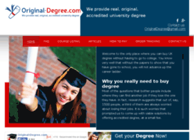 original-degree.com