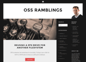 ossramblings.com