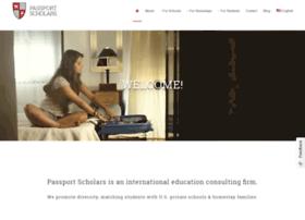 passportscholars.com