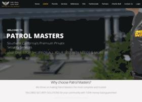 patrolmasters.com