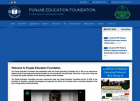 pef.edu.pk