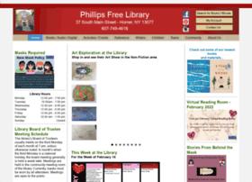 phillipsfreelibrary.org