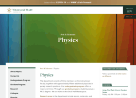 physics.wm.edu