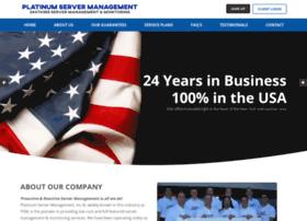 platinumservermanagement.com
