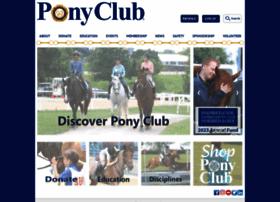 ponyclub.org