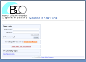 portal.beachcitiesortho.com