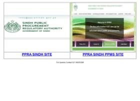 pprasindh.gov.pk