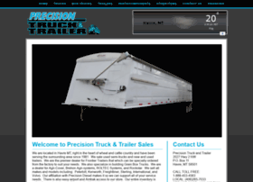 precisiontruckandtrailersales.com