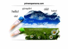 primerapersona.com