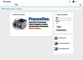 procureone.fanniemae.com