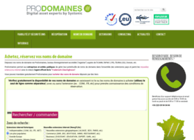 prodomaines.com