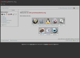 prontosystems.org