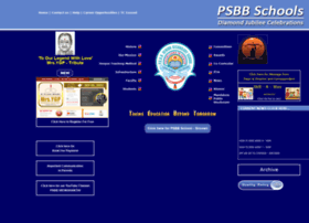 psbbschools.ac.in