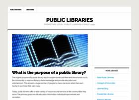 publiclibraries.com