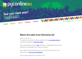 pycon-au.org