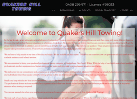 quakershilltowing.com.au