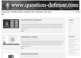 question-defense.com