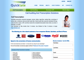 quicktate.com